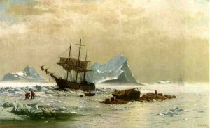 the Ice Floes - William Bradford Oil Painting