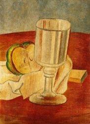 Still Life with Gobleet - Pablo Picasso Oil Painting