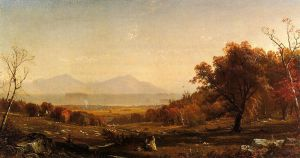 Lake George from Bolton - Alfred Thompson Bricher Oil Painting