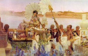 The Finding of Moses II - Sir Lawrence Alma-Tadema oil painting