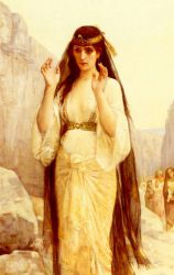 The Daughter Of Jephthah - Oil Painting Reproduction On Canvas
