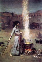 The Magic Circle - Oil Painting Reproduction On Canvas
