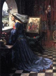 Fair Rosamund II - Oil Painting Reproduction On Canvas