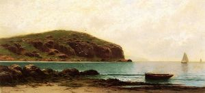 Coastal View - Alfred Thompson Bricher Oil Painting