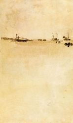 Beach Scene II - James Abbott McNeill Whistler Oil Painting