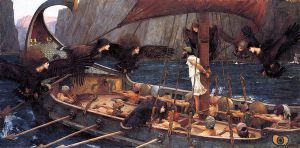 Ulysses and the Sirens - John William Waterhouse Oil Painting