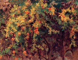 Pomegranates II - John Singer Sargent Oil Painting