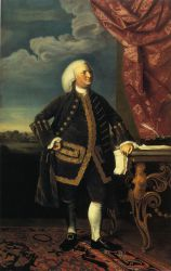 Jeremiah Lee - John Singleton Copley Oil Painting
