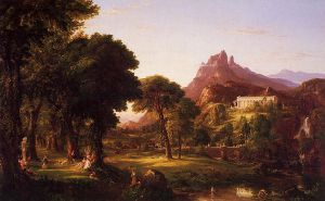 Dream of Arcadia - Thomas Cole Oil Painting