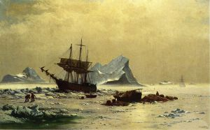 Among the Ice Floes - William Bradford Oil Painting