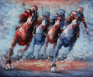 The Derby - Oil Painting Reproduction On Canvas
