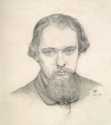 Self Portrait II - Dante Gabriel Rossetti Oil Painting