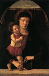 Madonna with Child II - Giovanni Bellini Oil Painting