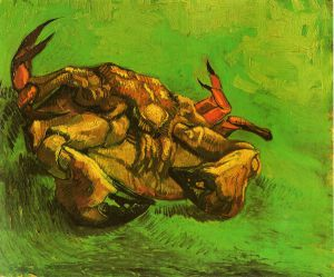 Crab on Its Back - Vincent Van Gogh Oil Painting