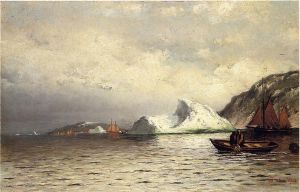 Pulling in the Nets - William Bradford Oil Painting