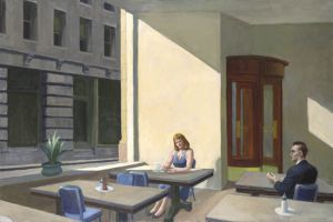 Sunlights in Cafeteria - Oil Painting Reproduction On Canvas