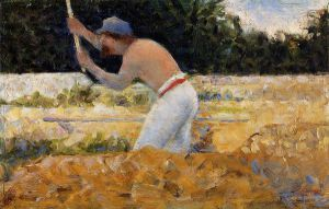 The Stone Breaker IV -   Georges Seurat Oil Painting