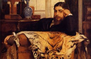 Algeron Moses Marsden - James Tissot oil painting