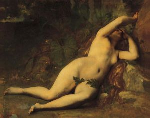Eve After the Fall - Alexandre Cabanel Oil Painting