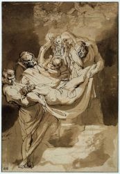 Entombment - Peter Paul Rubens Oil Painting