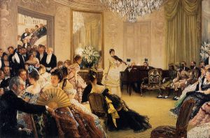 Hush! - James Tissot Oil Painting