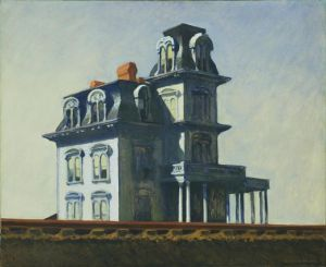 House by the Railroad - Edward Hopper Oil Painting