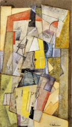 Cubist Composition - Oil Painting Reproduction On Canvas
