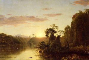 La Magdalena - Frederic Edwin Church Oil Painting