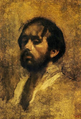 Self Portrait II - Edgar Degas Oil Painting