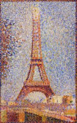 The Eiffel Tower - Georges Seurat Oil Painting