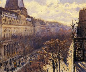 Boulevard des Italiens - Gustave Caillebotte Oil Painting