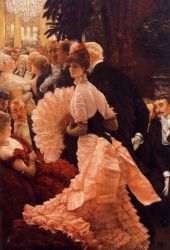 A Woman of Ambition - James Tissot oil painting