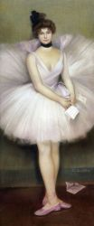Dancer - Oil Painting Reproduction On Canvas