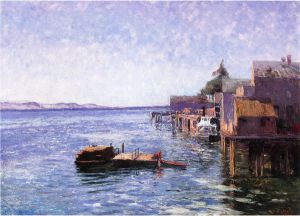 Puget Sound - Theodore Clement Steele Oil Painting