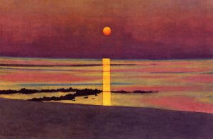 Sunset V - Felix Vallotton Oil Painting
