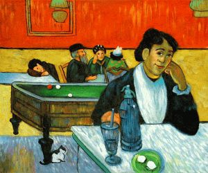 Night Cafe at Arles II - Paul Gauguin Oil Painting