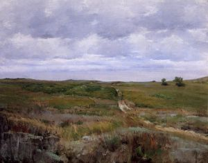 Over the Hills and Far Away - William Merritt Chase Oil Painting