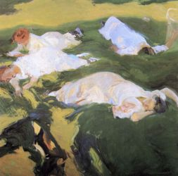 The Siesta - Oil Painting Reproduction On Canvas