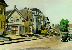 Prospect Street, Gloucester - Oil Painting Reproduction On Canvas