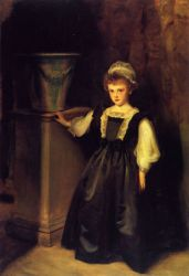 The Honorable Laura Lister - John Singer Sargent Oil Painting