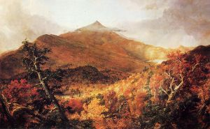 Schroon Mountain, Adirondacks, Essex County, New York, after a Storm - Thomas Cole Oil Painting
