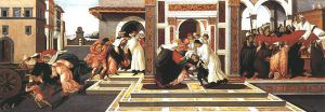 Last Miracle and the Death of St Zenobius - Sandro Botticelli oil painting