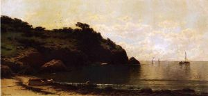 Coastal View II - Alfred Thompson Bricher Oil Painting