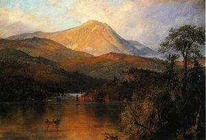 Mount Katahdin - Frederic Edwin Church Oil Painting
