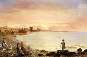 Sunrise at Saint Malo - Conrad Wise Chapman Oil Painting