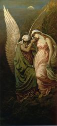 The Cup of Death - Elihu Vedder Oil Painting
