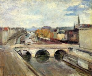 The Pot Saint-Michel in Paris - Henri Matisse Oil Painting