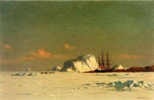 In the Arctic - William Bradford Oil Painting