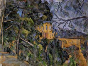 The Chateau Noir - Paul Cezanne Oil Painting