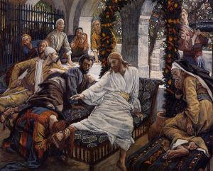Mary Magdalene's Box of Very Precious Ointment - James Tissot oil painting